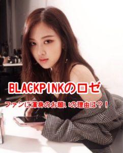 BLACKPINKロゼがインスタで芸能人ファン達に声掛け?!現在のオーストラリア火事を助けてとお願い日本人ファンの反応は
